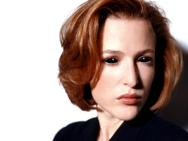 Dana Scully Possessed by Black Oil by LittleGreenGamer