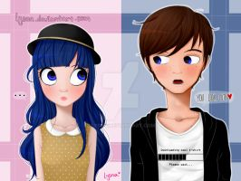 You look cute. by Lysna