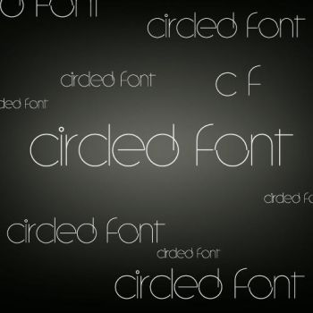 Circled Font by lovelielife