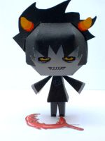 Karkat Homestuck Papercraft by Kittyintheraiyn