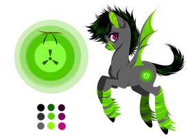 Lumen Lime OC by Loaded--Dice