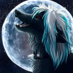 Moon icon comm. by WolfRoad