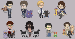 More pokecheebs by Efona
