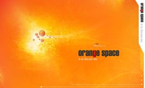 orange space by baheej