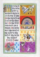 The Bells of Notre Dame by traces-on-a-page