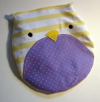 Owl Velcro Pouch by deconstructedstars