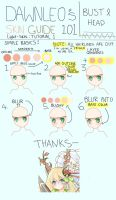 Skin Tutorial: -Light Skin- Head by Keiriu