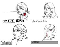 Nordic ladies by VoughtVindicator