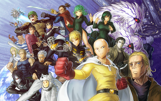 One Punch Man! by freezeex