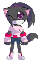 My Sonic OC by BlossomTehKat