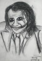 Joker (Charcoal Sketching) by shaixey