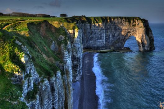 Cliffs Of Etretat by RickardHa