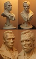Terminator - first casting out of moulds. by Alaneye