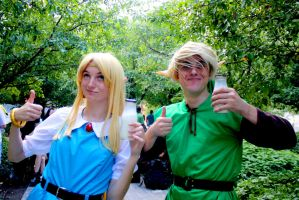 Link to the Past - Derpy Maiden and Hero by Midnight-Dare-Angel