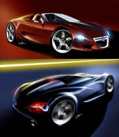 VW Targa-Coupe by husseindesign