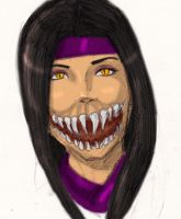 Mileena sketch by skyboy16
