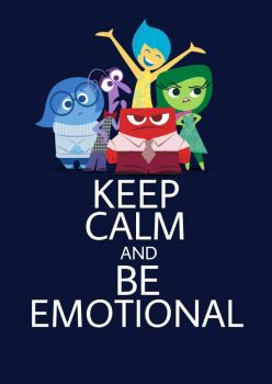 Inside Out Keep Calm Poster by HarleyMT