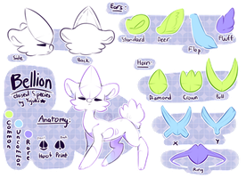 Bellion Species Ref by Yujuki