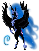 Nightmare Moon by swiftyuki