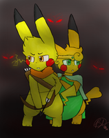 The Princess and The Archer Alt. by Bri-Chu