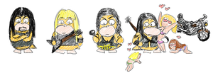 Manowar Psyducks by rockingenton