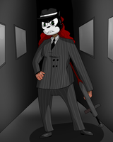 Gangster Suit Falicity by Bitterandbrighter