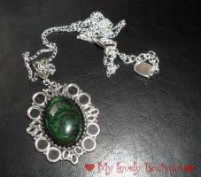 Green Cameo (latest collection) by TheLovelyBoutique
