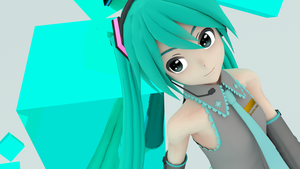 My first ever Blender x MMD render! by PrettyWitchDoremi