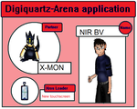 Digiquartz Arena App   Hunters nir and x-mon by DIGIFAN-x