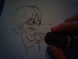.:[PHOTO/SKETCH]NOOOO NOT THIS!:. by Maniactheleader