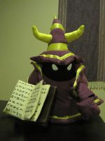 Purple Caster Minion Plush by britthebadger