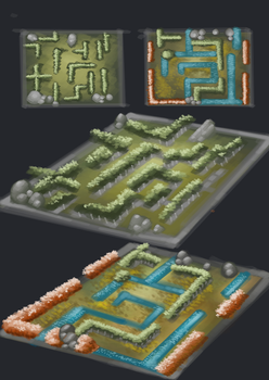 Maze_Game_Concepts 01 by Siua87