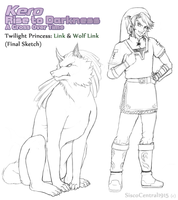 Kero: Rise to Darkness - TP Link Official Sketch by SiscoCentral1915
