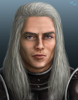 Rhaegar Targaryen Portrait by Kittanee