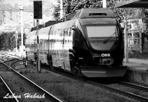 Train by lubnahabash