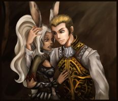 .:Fran and Balthier:. by Maye1a