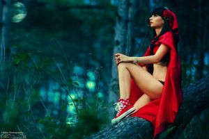 Me aka Red Ridding Hood... by kisska777