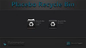 Placebo Recycle Bin by WwGallery