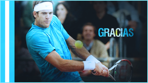 Gracias - Thank You - Del Potro by GreenMotion