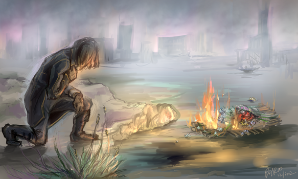 last farewell (dishonored) by PayRoo