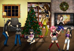 Biggest Christmas Collab 2008 by Yamineftis
