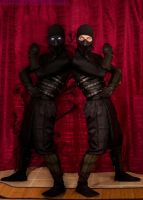 Noob Saibot and Shadow Clone by SlightlyImperfectPro