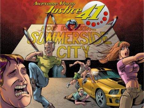 ASJ41 Web25, Cover by Awesomestormjustice
