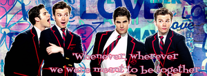 Klaine Facebook Cover for chriscolfer6 by iluvlouis