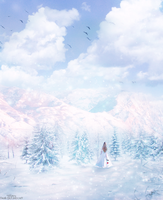 Winter Paradise by artbytiffany