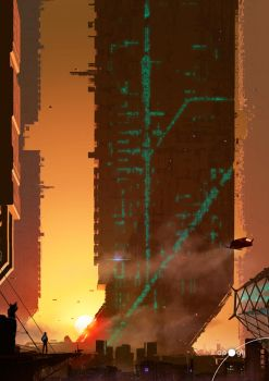 Sunset City 2 by qwertyDesign