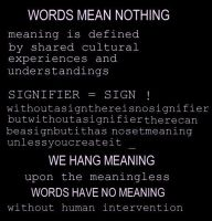Meaning by aesthetique