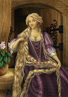 Historically accurate Disney - Rapunzel by Niobesnuppa
