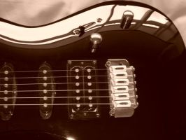 Photograph of my guitar by SkinnyJeanPunk