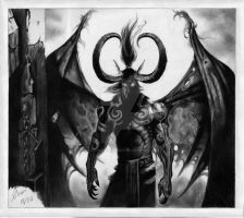 Illidan Stormrage by poetsandmadmen